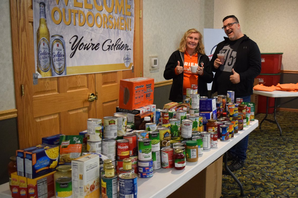 Local canned food drive
